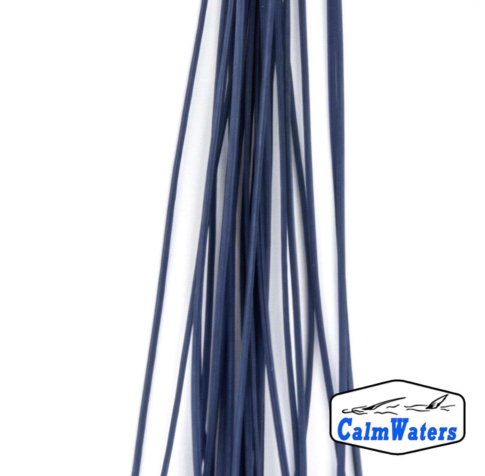 Fibre gommate per dare volume e visibilità al corpo delle imitazioni di chironomo. Ottime per la realizzazione di sacche alari o per dare volume e movimento alle più articolate amettiere per il persico reale.